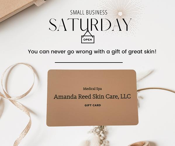 Amanda Website Small Business Saturday G