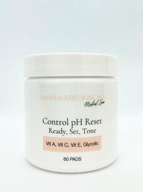 Control pH Reset Toner