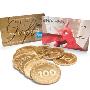 $100 Northpark Gold