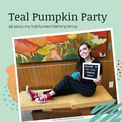 Teal Pumpkin Painting Party 2019
