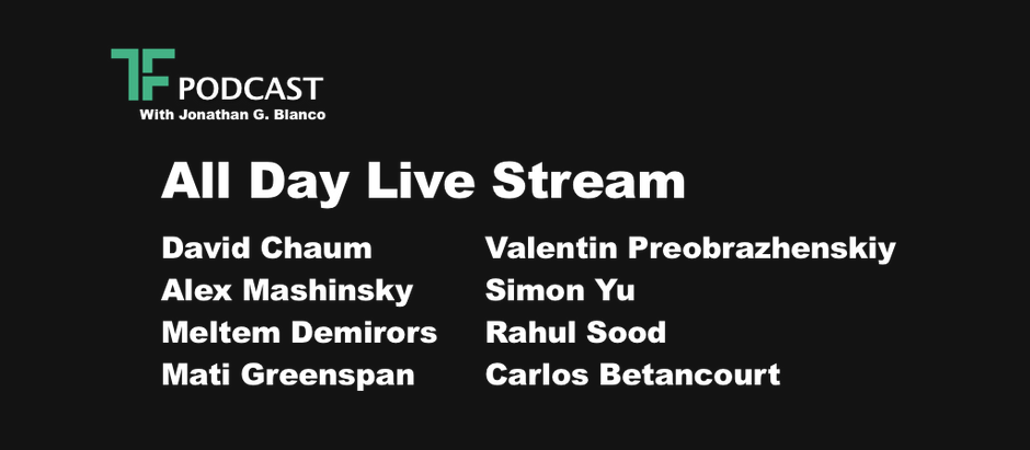TF Podcast Live Stream All Day, March 19th!