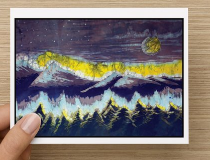 Mountain Twilight notecards (5 pack)