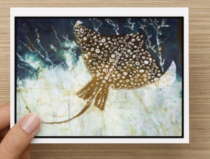 Spotted Eagle Ray notecards (5 pack)