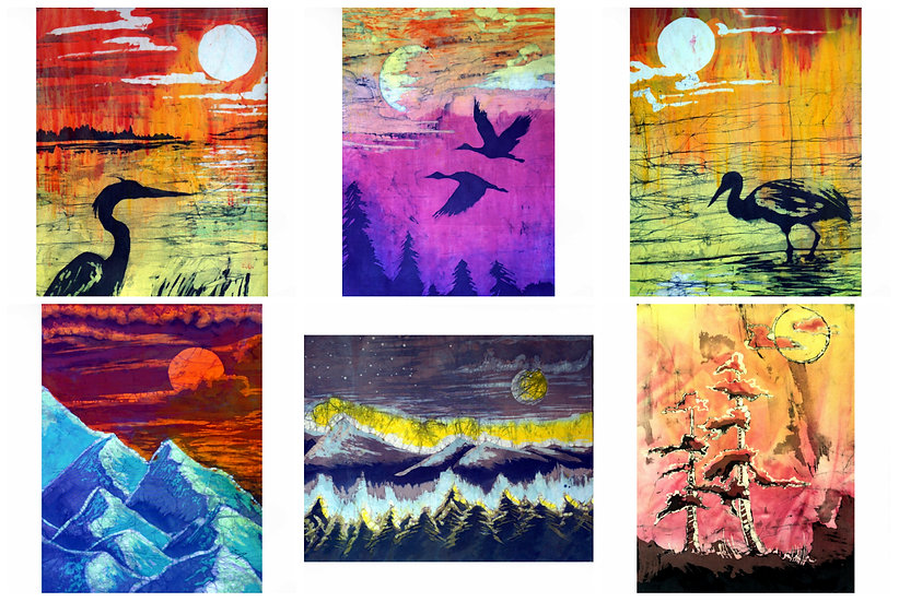 Land & Sky 8x10 Collection (6 prints)