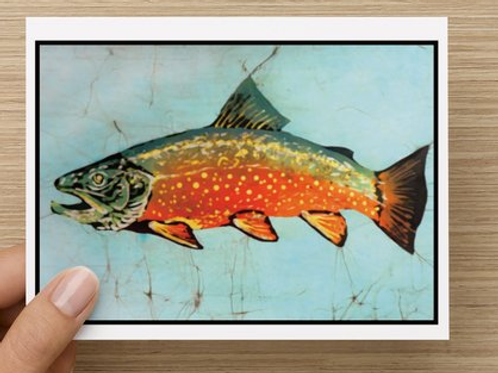 Brook Trout notecards (5 pack)