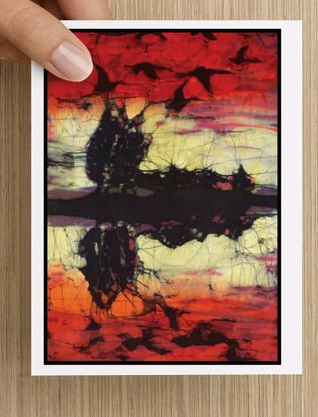 Geese at Sunset notecards (5 pack)
