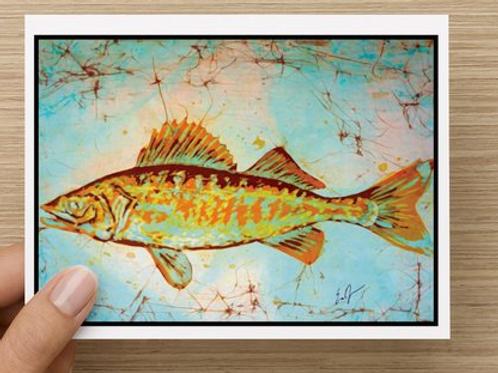 Walleye notecards (5 pack)