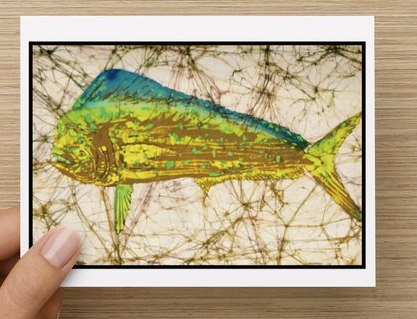 Mahi Mahi notecards (5 pack)