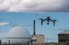 Drones save thousands of pounds in construction