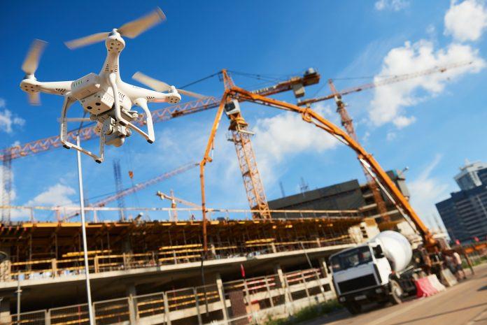 Drones BIM Construction Infrastructure