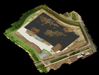 Reality capture using drone data and BIM