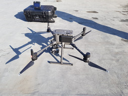 3D point cloud survey and roof inspection of an asset/building using drone technology