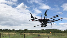 Aerial LiDAR used to survey a heavily vegetated inaccessible area