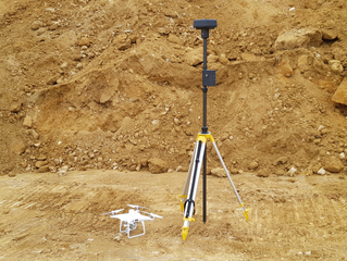 Drone survey of 70 acre earthworks project