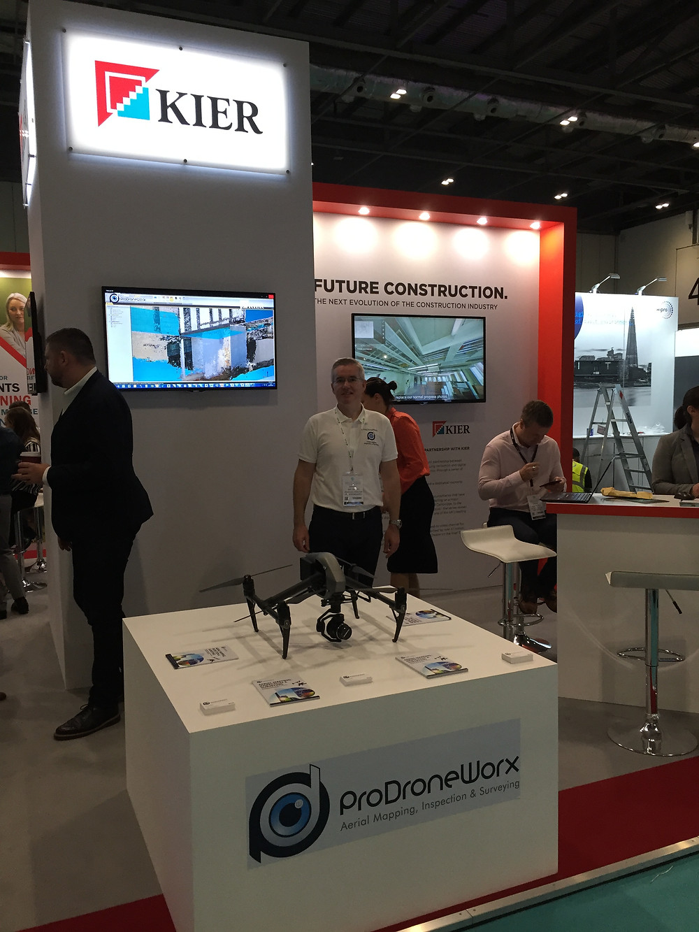 ProDroneWorx at Digital Construction Week