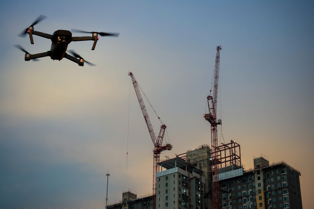 How digital information from drones can be used in disputes and health & safety within the construction industry