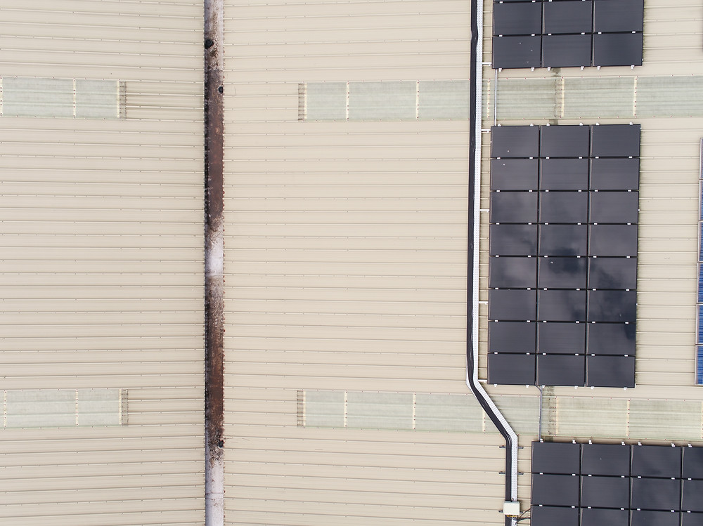 Roof inspection using drone technology