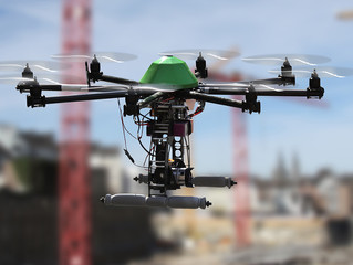 Drone use on the rise in construction, finds survey