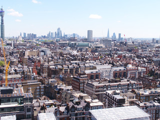 Conditional survey of asset in central London using drone technology