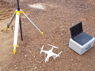 Squeezing in the last few drone survey and inspection jobs for 2019 before we finish up for a well d