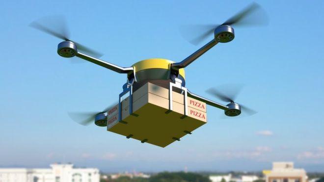 Amazon, Alphabet Inc. and Uber's progress on their drone strategies
