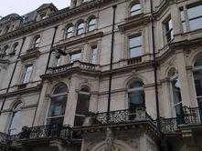 Drone survey of building facades in London