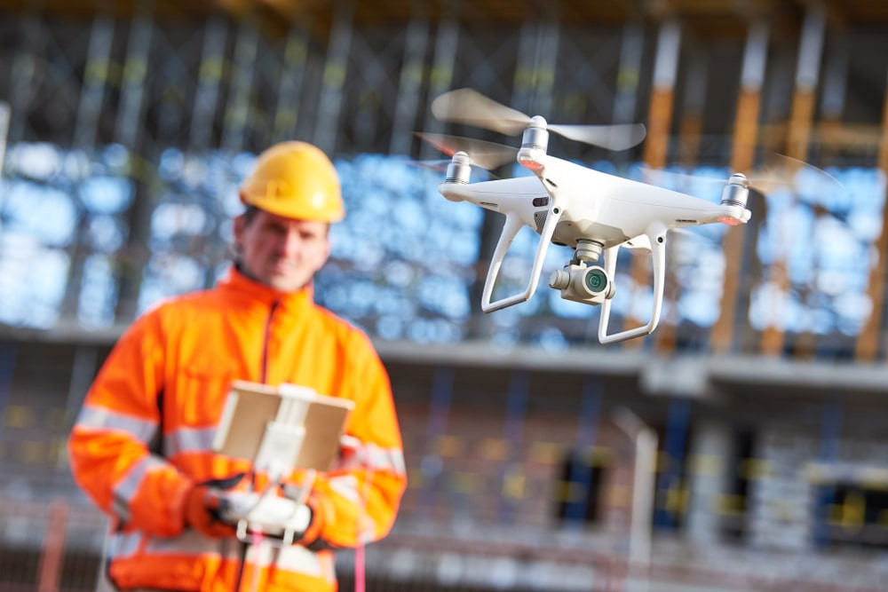 How digital information from drone technology can be used for inventory management