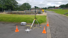 Water industry using drone technology to survey and inspect WTW projects