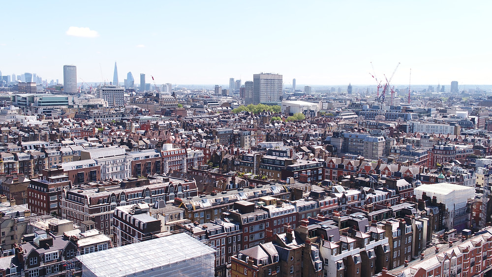 Can drones be flown in cities like London, Birmingham, Liverpool, Leeds, Bristol, Manchester etc to carry out a survey or inspection?