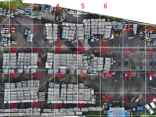 Using drone technology for inventory management