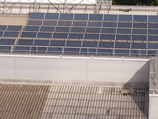 Roof top solar panel inspection using thermal imaging and drone technology