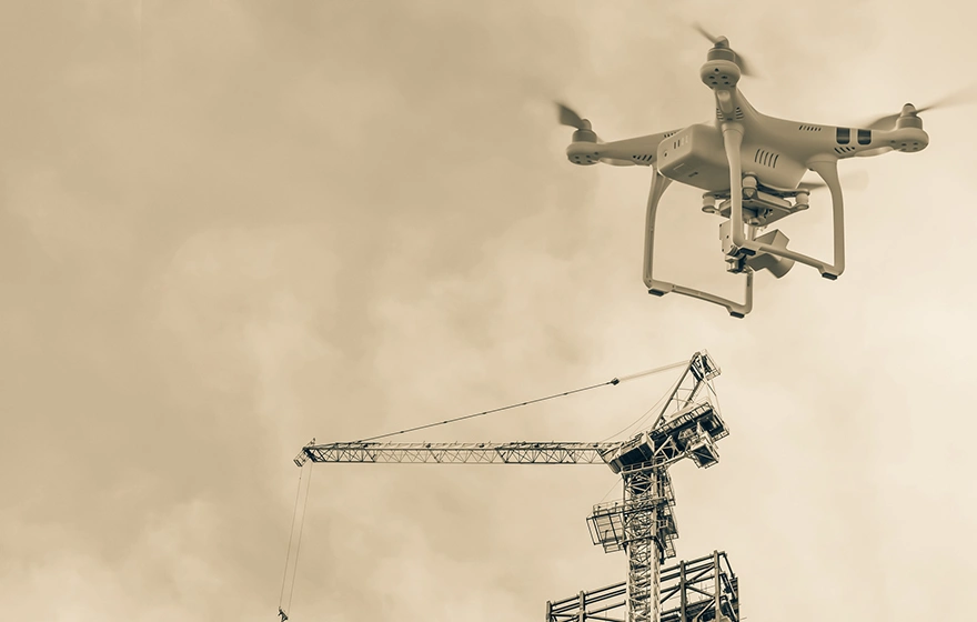 More than half of construction firms now using drones to capture data