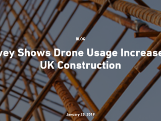 Survey Shows Drone Usage Increases in UK Construction by CRL