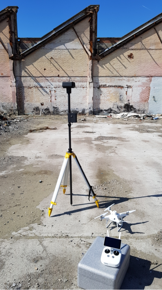 Survey grade accurate 2D/3D digital data from drone survey used to de-risk project at tender stage