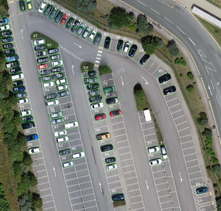 Machine Learning (ML) and AI used to identify objects, features from geospatial imagery