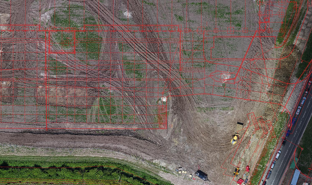 Drone survey used to transform the management of earthworks on construction project with 2D and 3D digital or reality capture outputs available within one day