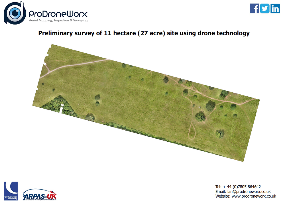 Drone Topogrpahical Survey