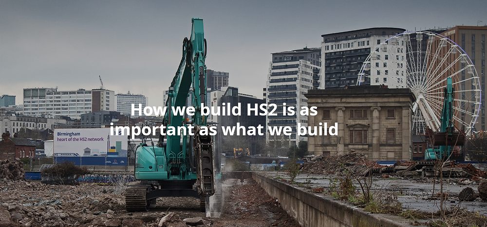 Drone surveying to play a big role on HS2 project