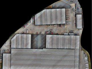 800,000 sq. ft asset surveyed for schedule of conditions using drone technology and analysis softwar