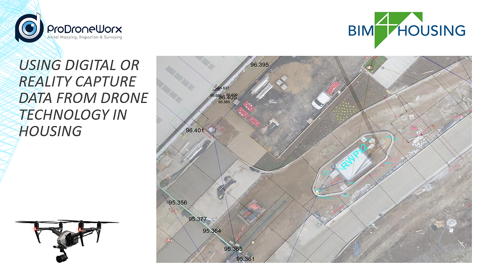 BIM4Housing and drone technology