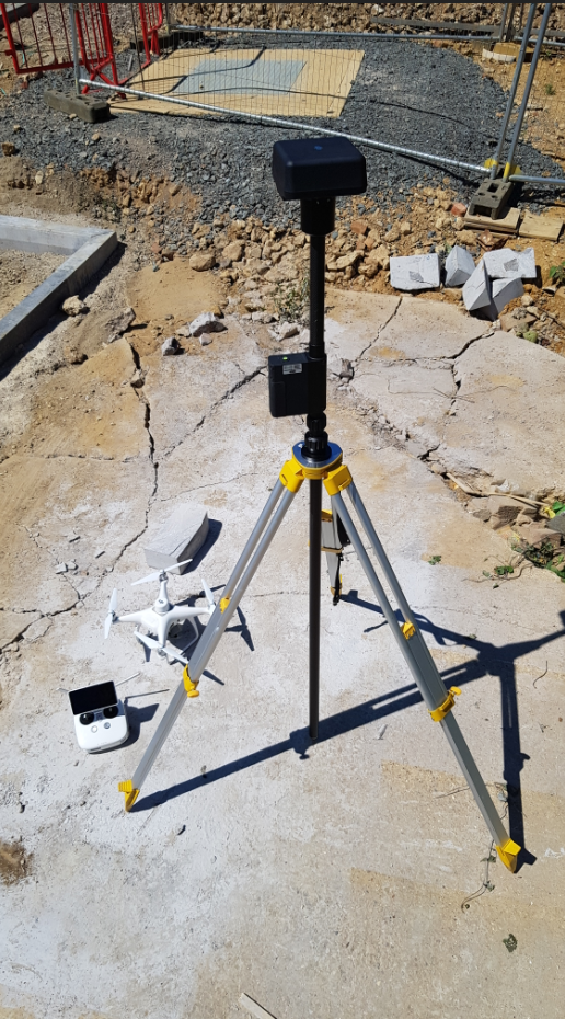 Using drone technology with RTK/PPK on construction, infrastructure and asset inspection projects