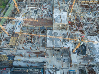 How drones can help monitor health and safety within the construction and demolition industries