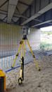 Using terrestrial laser scanning to capture 3D data on an infrastructure project