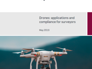 Drones - applications and compliance for surveyors by RICS