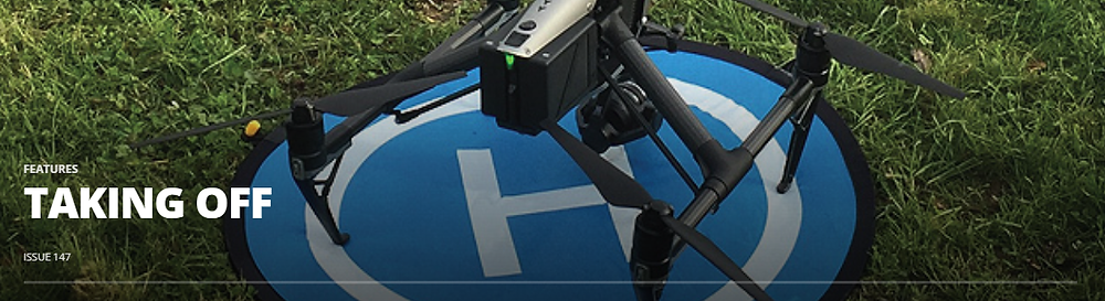 Drone technology and digital information