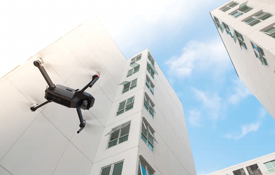 How drone technology can be used within BIM and housing