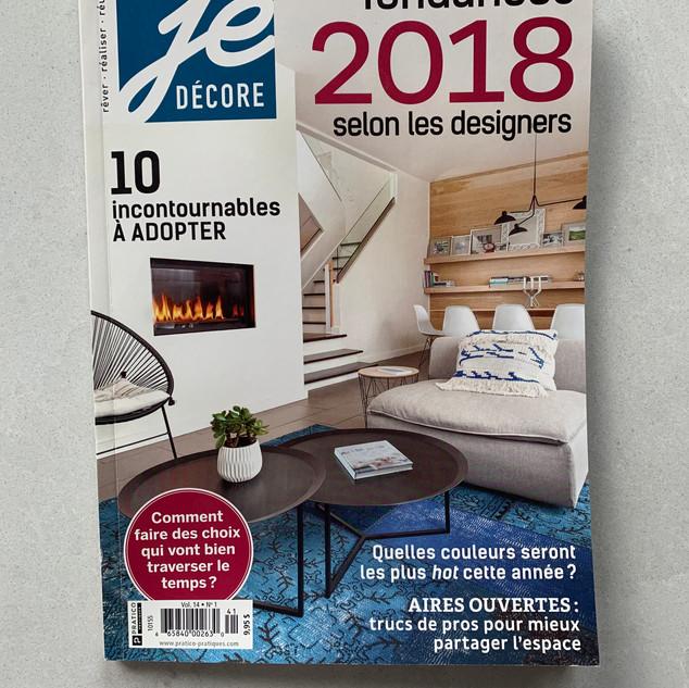 Je Décore / Tendances 2018