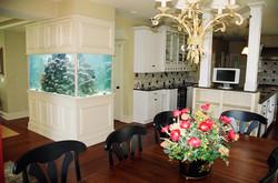 Custom Kitchen Aquarium