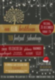 Feestzaal Saksenboom - Kerst pop-up 2019 - Goede doel Toumaï