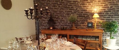 Koriander en Kaneel / Private dining / De Huiskamer